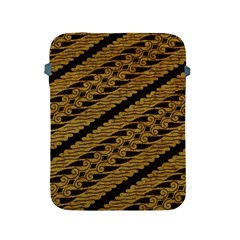 Traditional Art Indonesian Batik Apple Ipad 2/3/4 Protective Soft Cases by BangZart