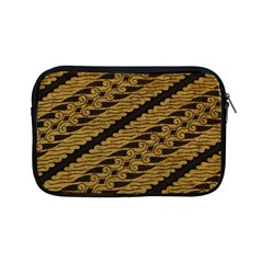 Traditional Art Indonesian Batik Apple Ipad Mini Zipper Cases by BangZart