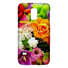 Colorful Flowers Galaxy S5 Mini by BangZart