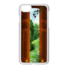 Beautiful World Entry Door Fantasy Apple Iphone 7 Seamless Case (white) by BangZart
