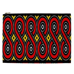 Toraja Traditional Art Pattern Cosmetic Bag (xxl)  by BangZart