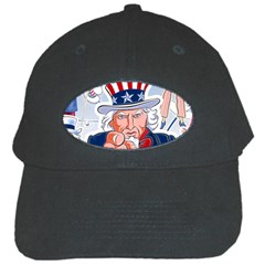 Independence Day United States Of America Black Cap by BangZart
