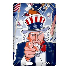 Independence Day United States Of America Amazon Kindle Fire Hd (2013) Hardshell Case by BangZart