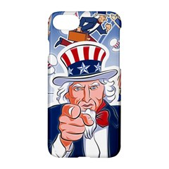 Independence Day United States Of America Apple Iphone 7 Hardshell Case by BangZart