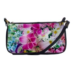 Colorful Flowers Patterns Shoulder Clutch Bags by BangZart