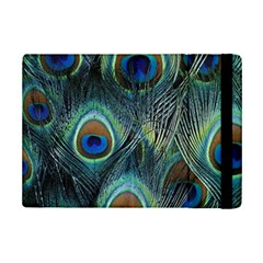 Feathers Art Peacock Sheets Patterns Ipad Mini 2 Flip Cases by BangZart