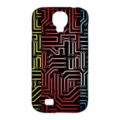 Circuit Board Seamless Patterns Set Samsung Galaxy S4 Classic Hardshell Case (pc+silicone) by BangZart