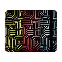 Circuit Board Seamless Patterns Set Samsung Galaxy Tab Pro 8 4  Flip Case by BangZart