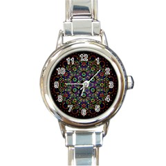 The Flower Of Life Round Italian Charm Watch by BangZart
