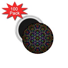 The Flower Of Life 1 75  Magnets (100 Pack)  by BangZart