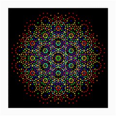 The Flower Of Life Medium Glasses Cloth (2 Side) by BangZart