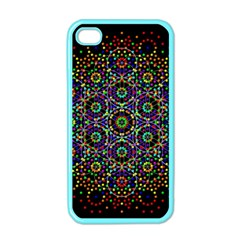 The Flower Of Life Apple Iphone 4 Case (color) by BangZart