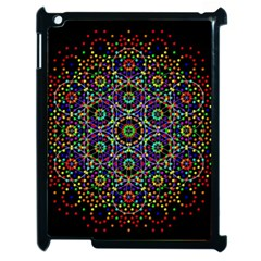 The Flower Of Life Apple Ipad 2 Case (black) by BangZart