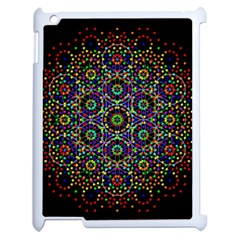 The Flower Of Life Apple Ipad 2 Case (white) by BangZart