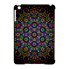 The Flower Of Life Apple Ipad Mini Hardshell Case (compatible With Smart Cover) by BangZart