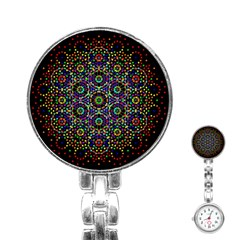 The Flower Of Life Stainless Steel Nurses Watch by BangZart