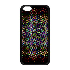 The Flower Of Life Apple Iphone 5c Seamless Case (black) by BangZart