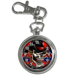 Confederate Flag Usa America United States Csa Civil War Rebel Dixie Military Poster Skull Key Chain Watches by BangZart