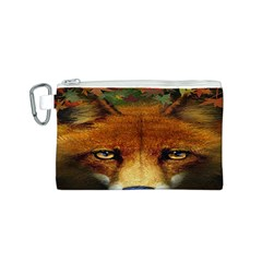 Fox Canvas Cosmetic Bag (s) by BangZart