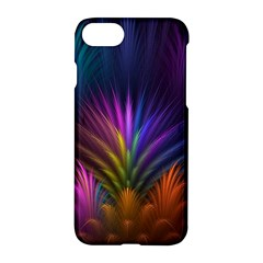Colored Rays Symmetry Feather Art Apple Iphone 7 Hardshell Case by BangZart