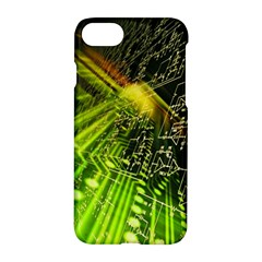 Electronics Machine Technology Circuit Electronic Computer Technics Detail Psychedelic Abstract Patt Apple Iphone 7 Hardshell Case by BangZart