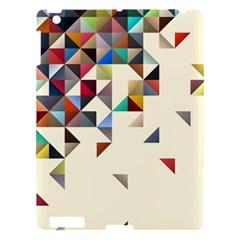 Retro Pattern Of Geometric Shapes Apple Ipad 3/4 Hardshell Case by BangZart