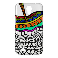Abstract Apple Art Colorful Samsung Galaxy Mega 6 3  I9200 Hardshell Case by Nexatart