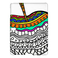 Abstract Apple Art Colorful Samsung Galaxy Tab S (10 5 ) Hardshell Case  by Nexatart