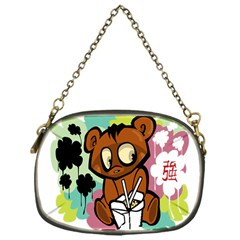 Bear Cute Baby Cartoon Chinese Chain Purses (one Side)  by Nexatart