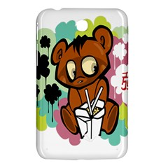 Bear Cute Baby Cartoon Chinese Samsung Galaxy Tab 3 (7 ) P3200 Hardshell Case  by Nexatart