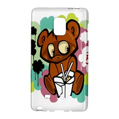 Bear Cute Baby Cartoon Chinese Galaxy Note Edge by Nexatart
