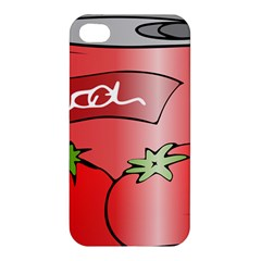 Beverage Can Drink Juice Tomato Apple Iphone 4/4s Hardshell Case by Nexatart