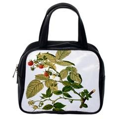 Berries Berry Food Fruit Herbal Classic Handbags (one Side) by Nexatart