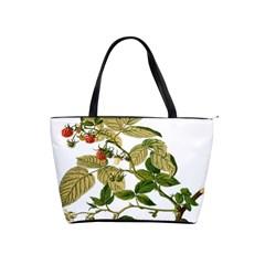 Berries Berry Food Fruit Herbal Shoulder Handbags by Nexatart