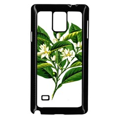 Bitter Branch Citrus Edible Floral Samsung Galaxy Note 4 Case (black) by Nexatart