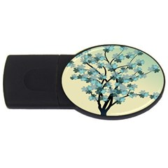 Branches Field Flora Forest Fruits Usb Flash Drive Oval (2 Gb) by Nexatart