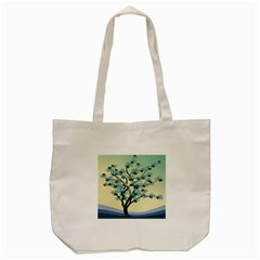 Branches Field Flora Forest Fruits Tote Bag (cream) by Nexatart