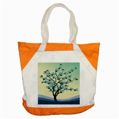 Branches Field Flora Forest Fruits Accent Tote Bag by Nexatart