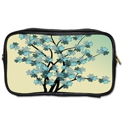 Branches Field Flora Forest Fruits Toiletries Bags 2 Side by Nexatart