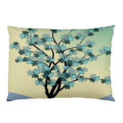 Branches Field Flora Forest Fruits Pillow Case (two Sides) by Nexatart