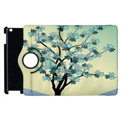 Branches Field Flora Forest Fruits Apple Ipad 2 Flip 360 Case by Nexatart