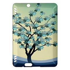 Branches Field Flora Forest Fruits Kindle Fire Hdx Hardshell Case by Nexatart