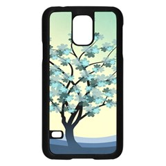 Branches Field Flora Forest Fruits Samsung Galaxy S5 Case (black) by Nexatart