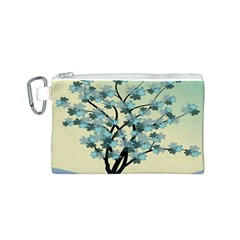 Branches Field Flora Forest Fruits Canvas Cosmetic Bag (s)