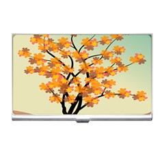 Branches Field Flora Forest Fruits Business Card Holders by Nexatart