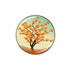 Branches Field Flora Forest Fruits Hat Clip Ball Marker (4 Pack) by Nexatart