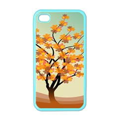Branches Field Flora Forest Fruits Apple Iphone 4 Case (color) by Nexatart
