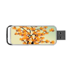 Branches Field Flora Forest Fruits Portable Usb Flash (one Side) by Nexatart