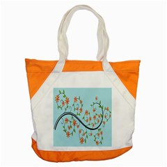 Branch Floral Flourish Flower Accent Tote Bag by Nexatart
