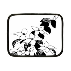 Ecological Floral Flowers Leaf Netbook Case (small)  by Nexatart